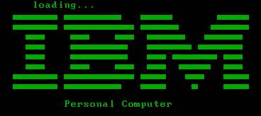 IBM Loading Screen